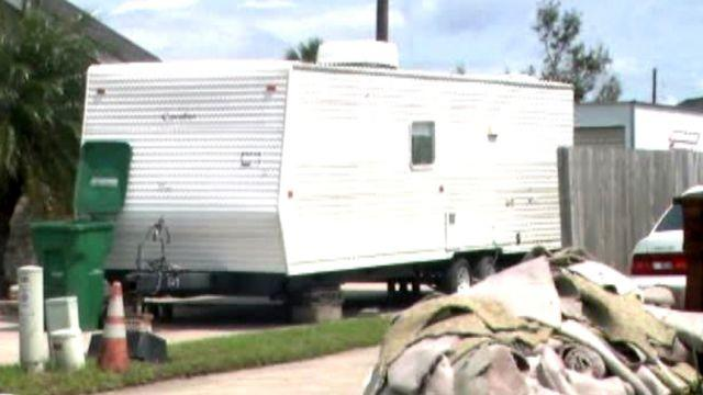 Trailer shortages leave Hurricane Isaac victims desperate