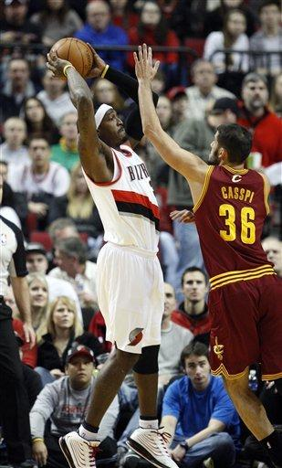 Aldridge scores 28 in Blazers' 98-78 win over Cavs