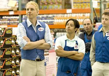 Dax Shepard and Efren Ramirez in Lionsgate Films' Employee of the Month