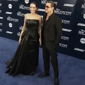 Brad and Angelina return to screen as married couple