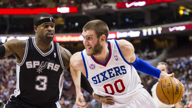 NBA: San Antonio Spurs at Philadelphia 76ers