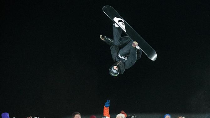 10ThingstoSeeSports - Iouri Podladtchikov makes his final run in an attempt to get on the podium during the Men's Snowboard SuperPipe finals at the 18th edition of the Winter X Games in Aspen, Colo., Sunday, Jan. 26, 2014. (AP Photo/The Colorado Springs Gazette, Michael Ciaglo, File)
