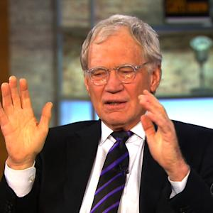 Letterman Criticizes New 'Late Late Show' Host