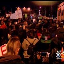 Protests Continue In Ferguson And Philadelphia