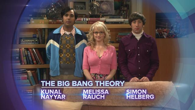 CBS Cares - The Big Bang Theory on Red Cross