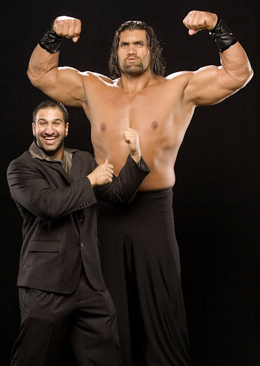 WWE Smackdown Superstar Great Khali from the CW's Friday Night Smackdown! 
