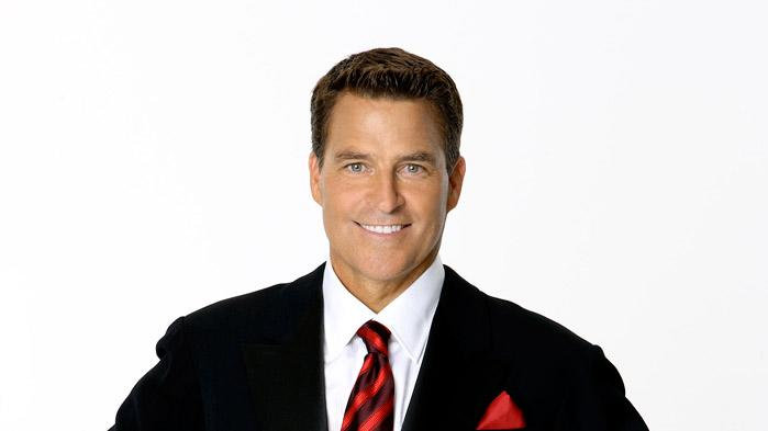"Actor Ted McGinley competes in season 7 of ""Dancing with the Stars."""