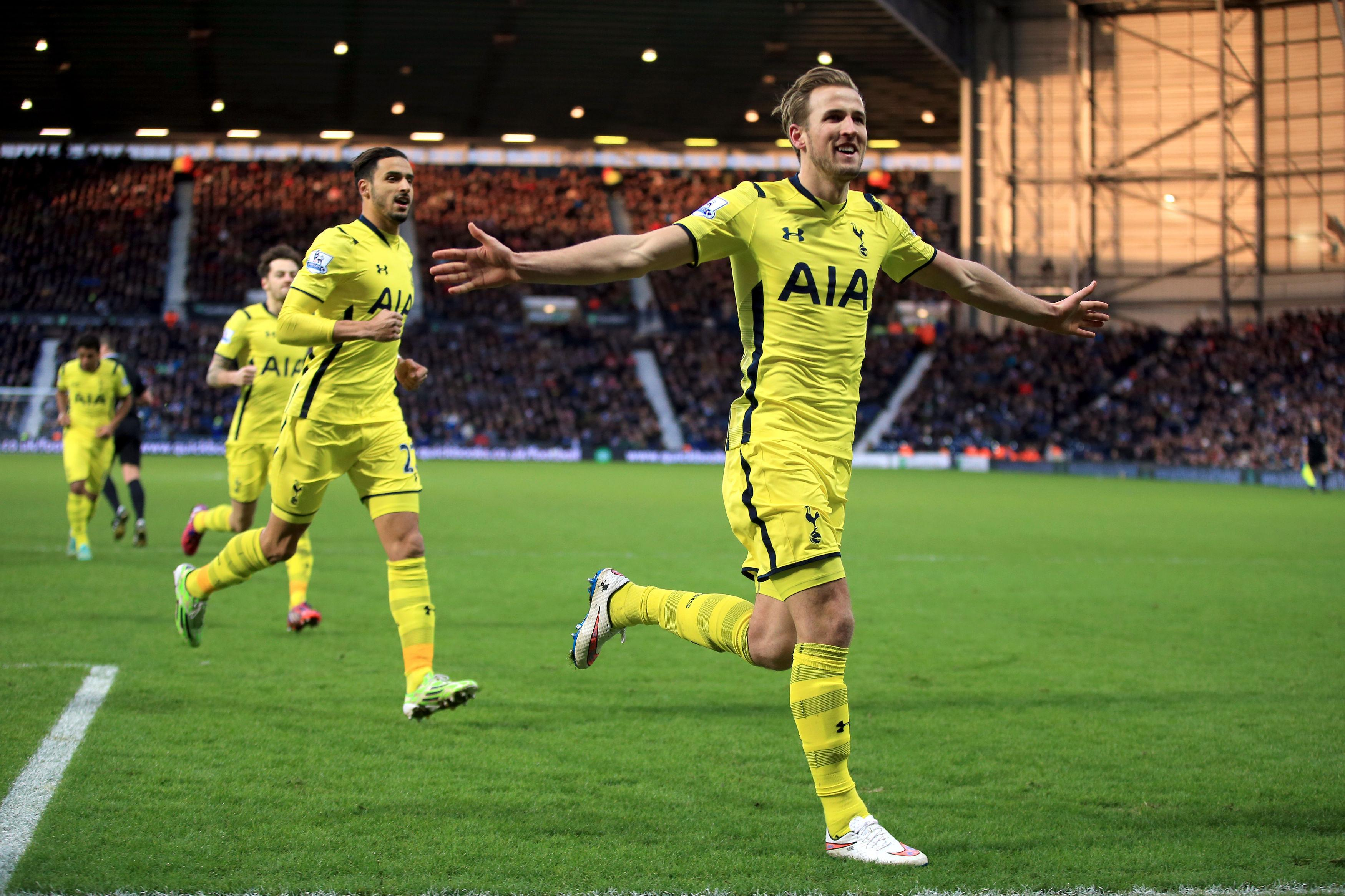 Kane scores 2 as Spurs beat West Brom 3-0