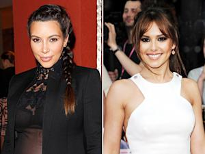 Kim Kardashian Thanks Cheryl Cole for Defending Her Pregnancy Curves