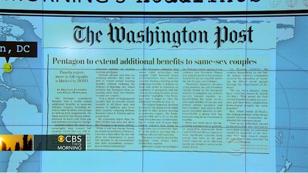 Headlines: Pentagon gives …