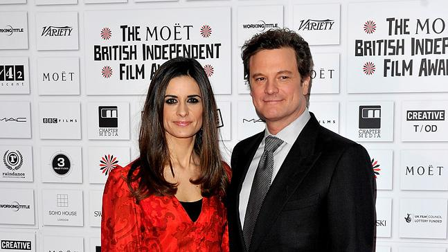 2010 British Independent Film Awards Colin Firth Livia Giuggioli