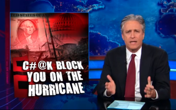 Jon Stewart Returns to Slam House GOP on Sandy Aid