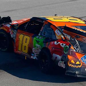 Busch involved in multi-car wreck at Talladega
