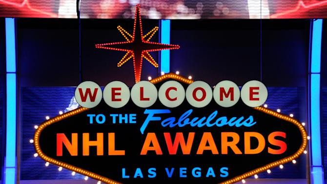 NHL Awards sign