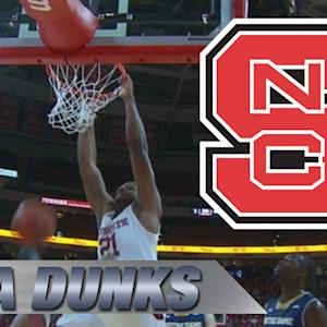 NC State's Beejay Anya Dunks on 3 Straight Possessions