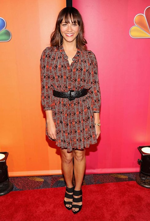 Rashida Jones NBC Upfronts