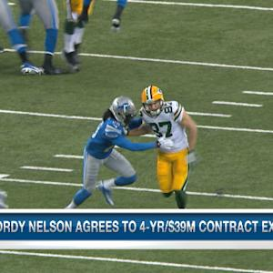 Green Bay Packers wide receiver Jordy Nelson reaches new deal