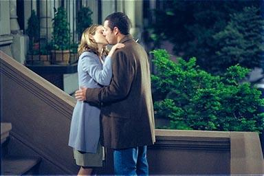 Winona Ryder and Adam Sandler in Columbia's Mr. Deeds