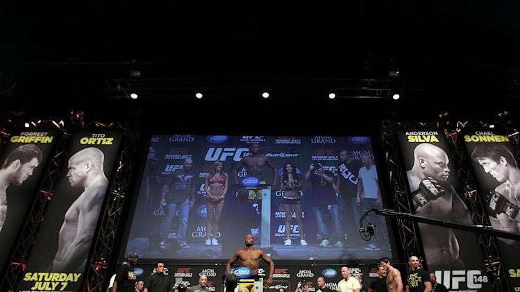 UFC 148 Weigh In