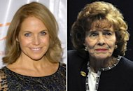 Katie Couric, Sue Paterno | Photo Credits: Michael Stewart/FilmMagic; Patrick Smith/Getty Images