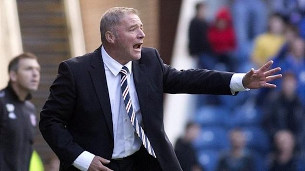 Ally McCoist's Rangers side have a 100 per cent record in League One
