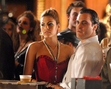 Eva Mendes and Joaquin Phoenix in Columbia Pictures' We Own the Night