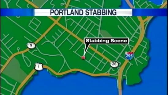 Portland police look for stabbing suspect