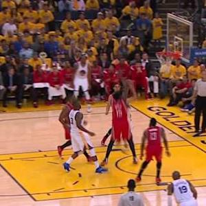 Curry Reverse Layup