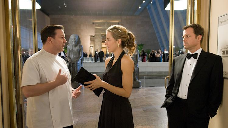 Ghost Town Production Stills Dreamworks 2008 Ricky Gervais Tea Leoni Greg Kinnear