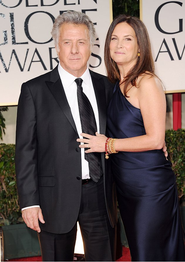 Dustin Hoffman and wife