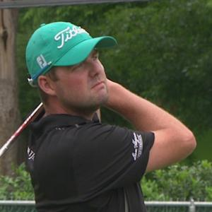 Marc Leishman's 9-iron to inches is the Shot of the Day
