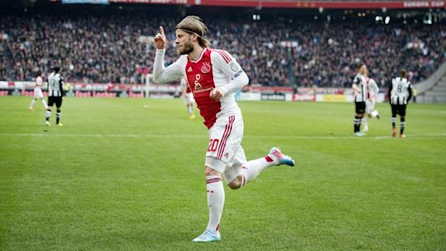 Ajax Amsterdam player Lasse Schone (AFP)