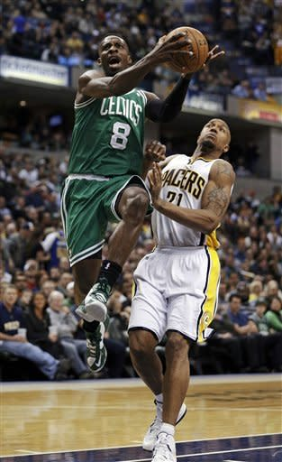 Green's layup completes rally, Celtics beat Pacers