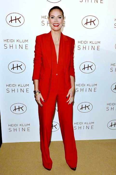 Heidi Klum Fragrance Launch