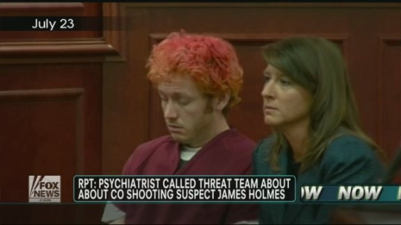 Report: University ignored warning signs about James Holmes