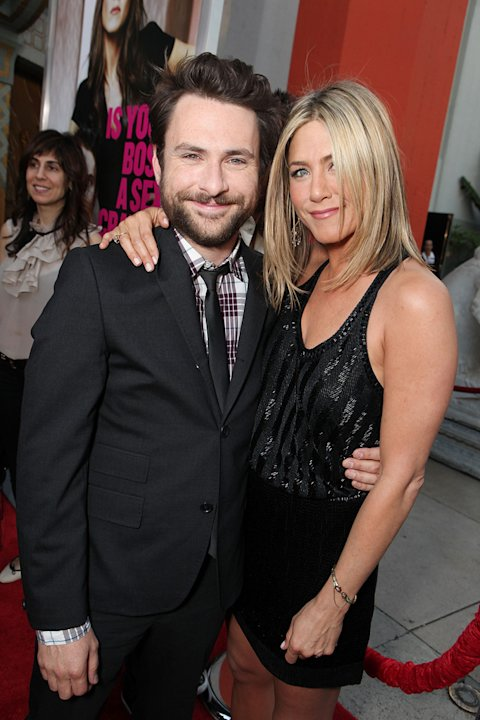 Horrible Bosses 2011 LA Premiere Charlie Day Jennifer Aniston