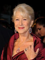 Dame Helen Mirren is queen of veteran stars