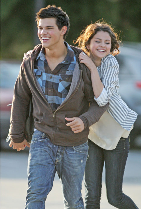 Selena Gomez, Taylor Lautner