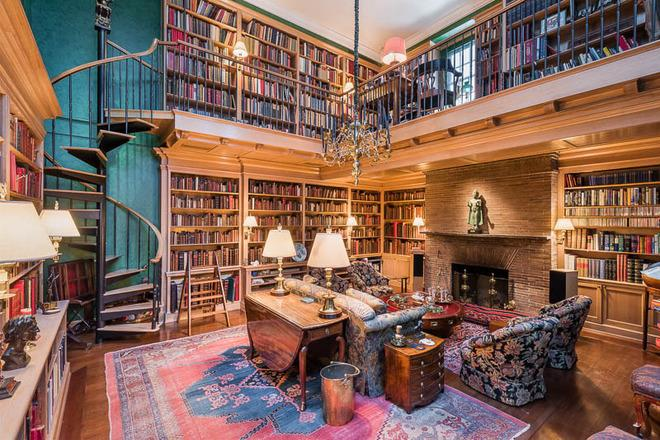 Grab A Book: The 10 Most Beautiful Private Libraries on the Market in NYC