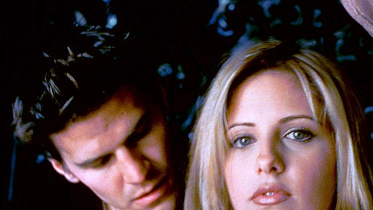 Buffy and Angel,