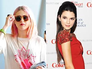 "Frances Bean Cobain Calls Kendall Jenner a ""Self-Absorbed Idiot"""