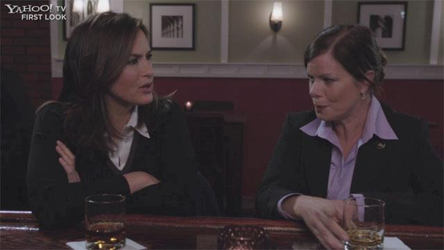 """Law & Order: SVU"" Exclusive: Marcia Gay Harden Returns"