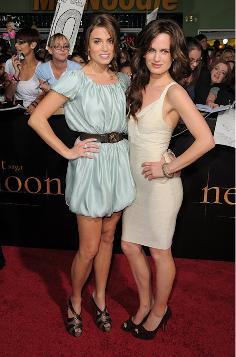 Twilight Saga New Moon LA Premiere 2009 Nikki Reed Elizabeth Reaser