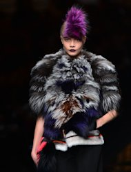 Fendi Fall-Winter 2013-2014 Womenswear