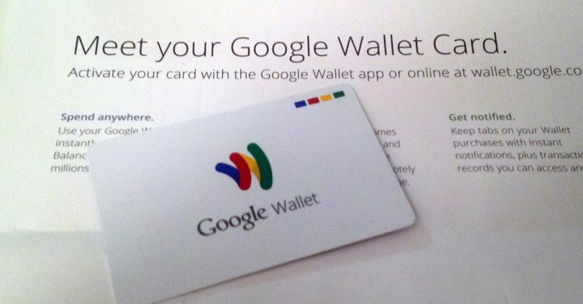 Send & Receive Money With Your Google Wallet Card