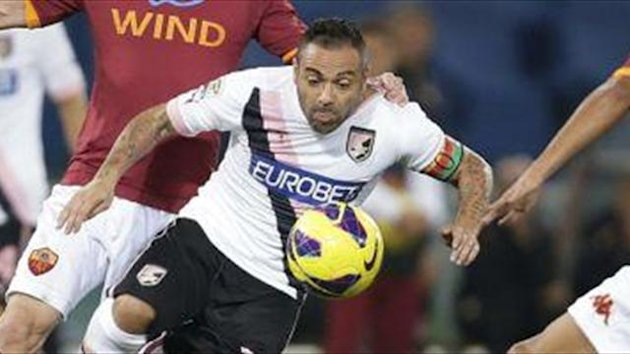 Palermo suffer Miccoli blow
