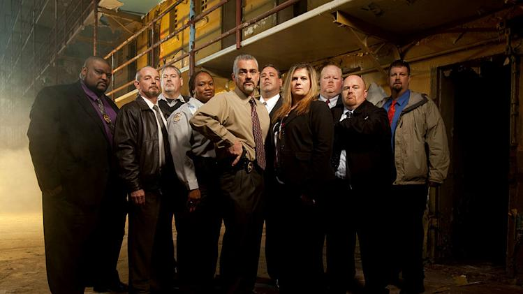 "The cast of ""The Squad: Prison Police."""