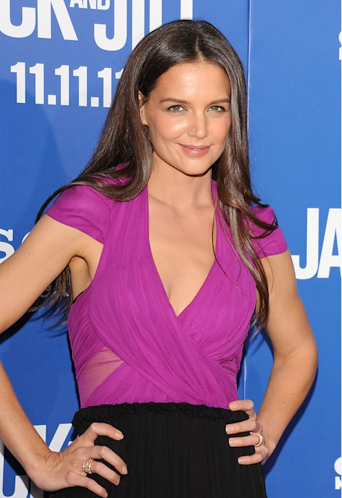 Jack and Jill LA Premiere 2011 Katie Holmes