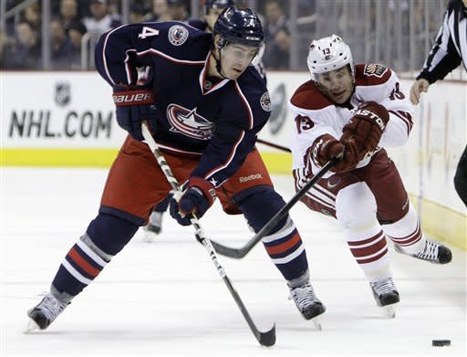 Brassard lifts Blue Jackets past Coyotes