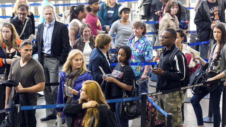 Flight delays pile up amid FAA budget cuts